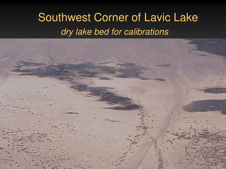 Southwest Corner of Lavic Lake