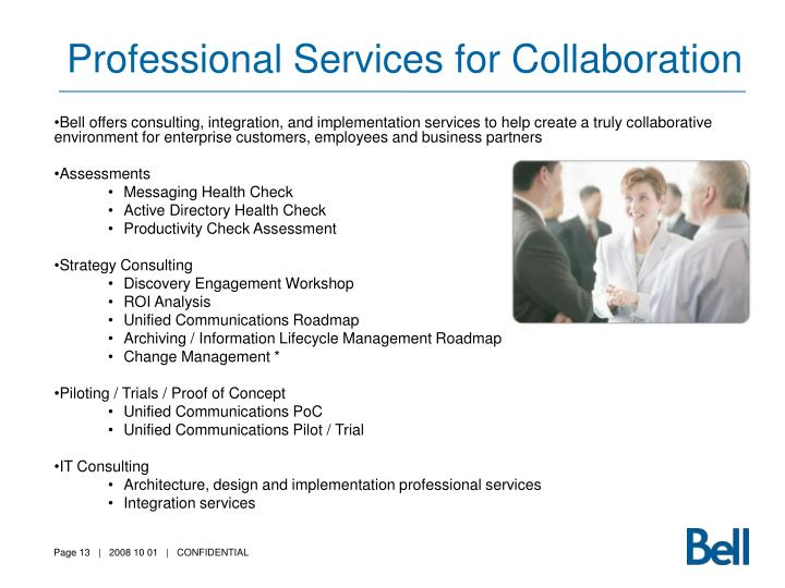 Professional Services for Collaboration