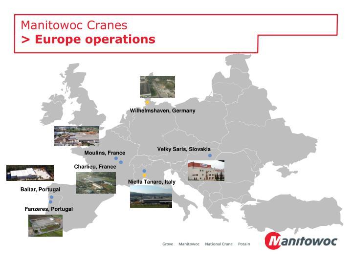 Manitowoc Cranes