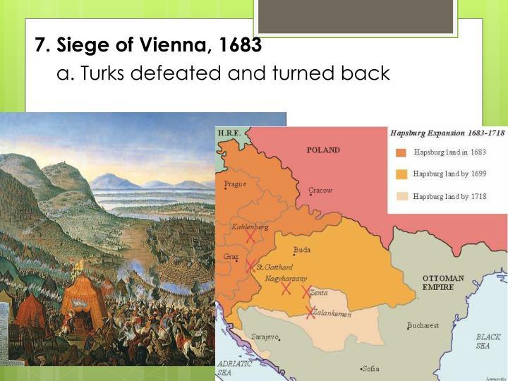 7. Siege of Vienna, 1683