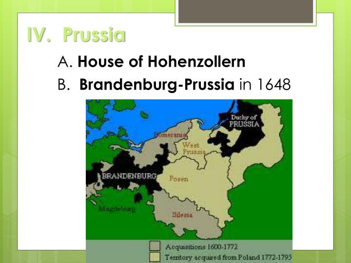 IV.Prussia