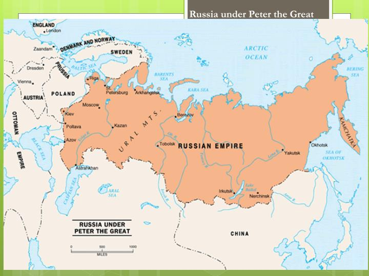Russia under Peter the Great