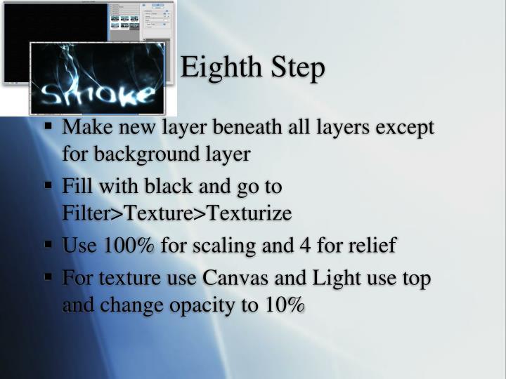 Eighth Step