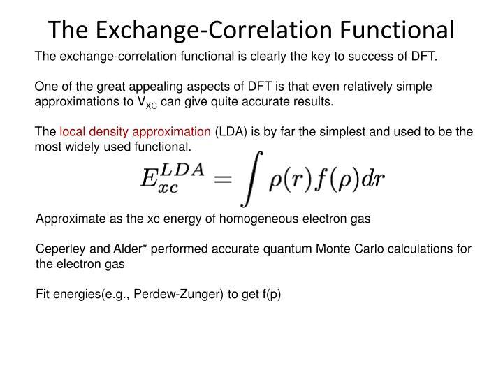 The Exchange-Correlation Functional
