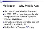 motivation why mobile ads