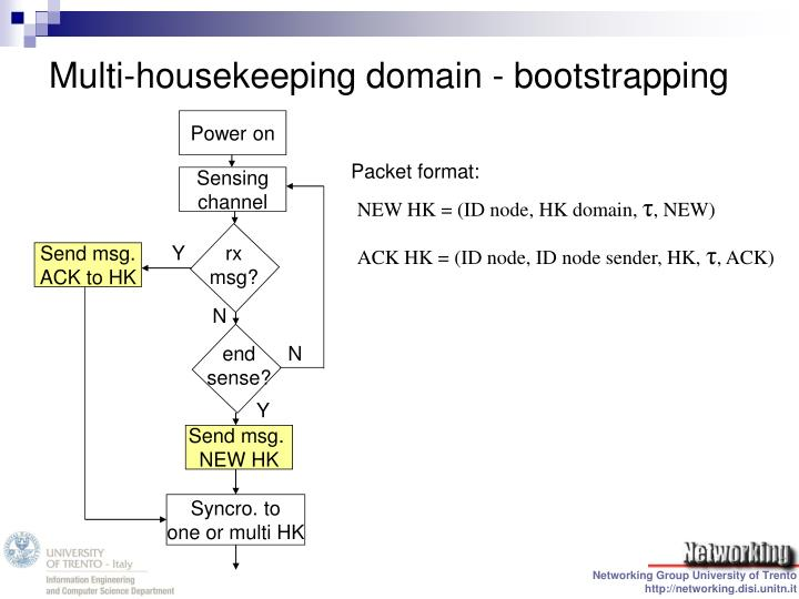 Multi-housekeeping domain - bootstrapping