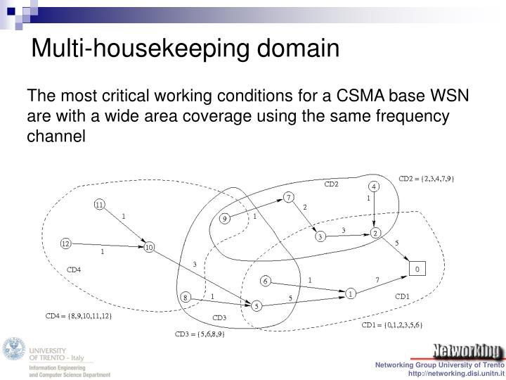 Multi-housekeeping domain
