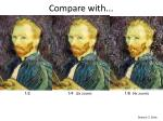 compare with