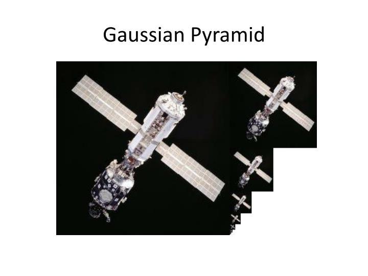 Gaussian Pyramid