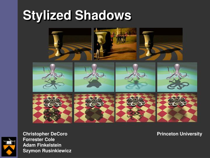 Stylized shadows