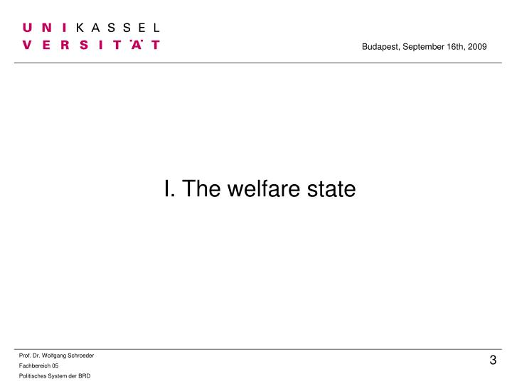 I the welfare state