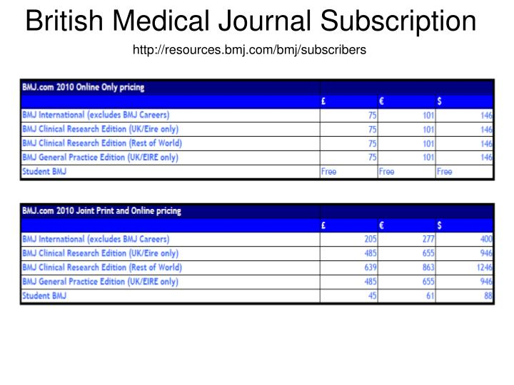 http://resources.bmj.com/bmj/subscribers