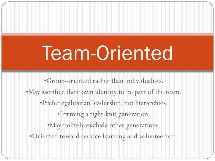 Team-Oriented