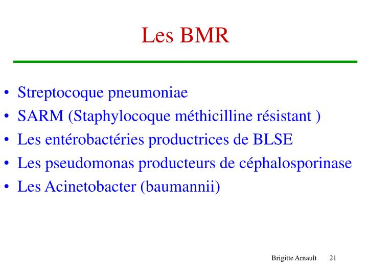 Les BMR