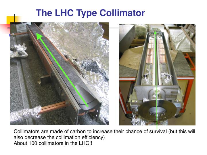 The LHC Type Collimator