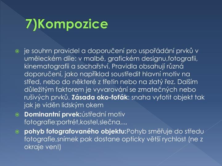 7)Kompozice