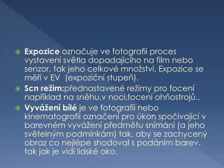 Expozice