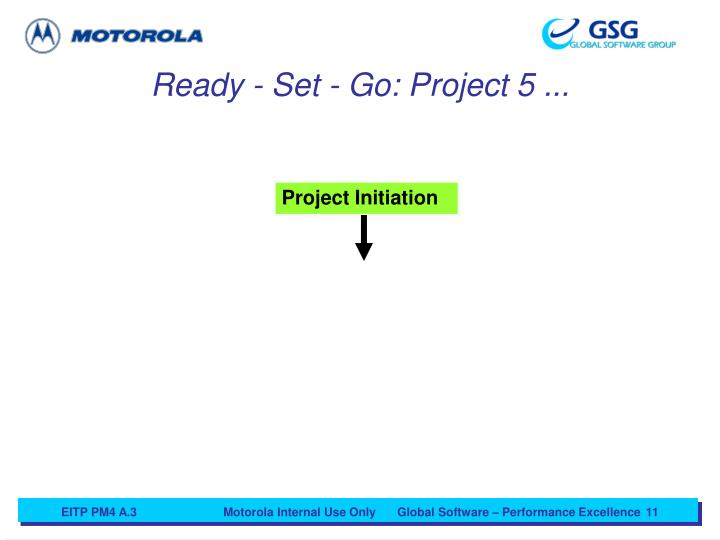 Ready - Set - Go: Project 5 ...