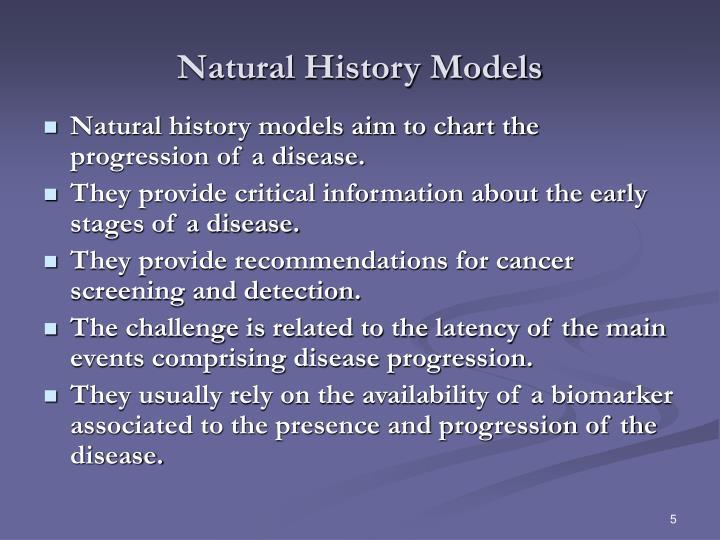 Natural History Models