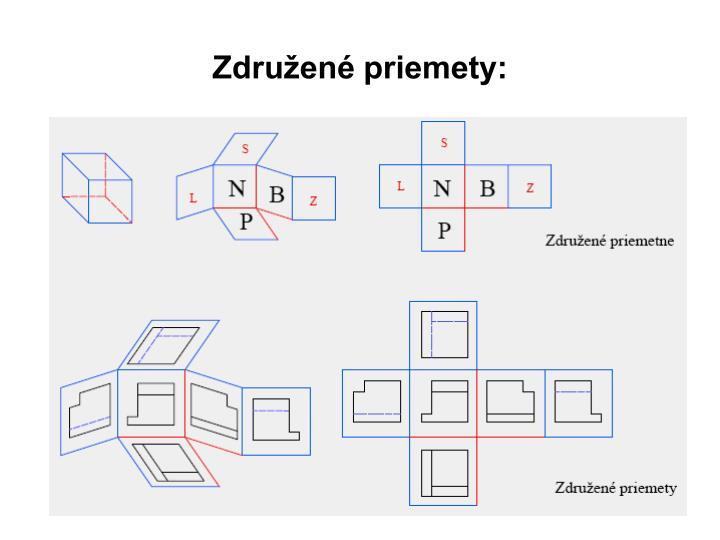 Združené priemety: