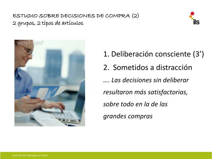 ESTUDIO SOBRE DECISIONES DE COMPRA (2)