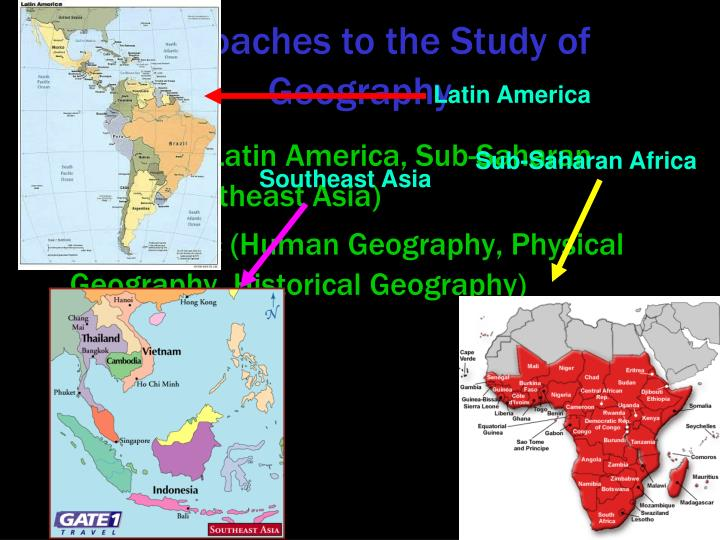 Approaches to the Study of Geography