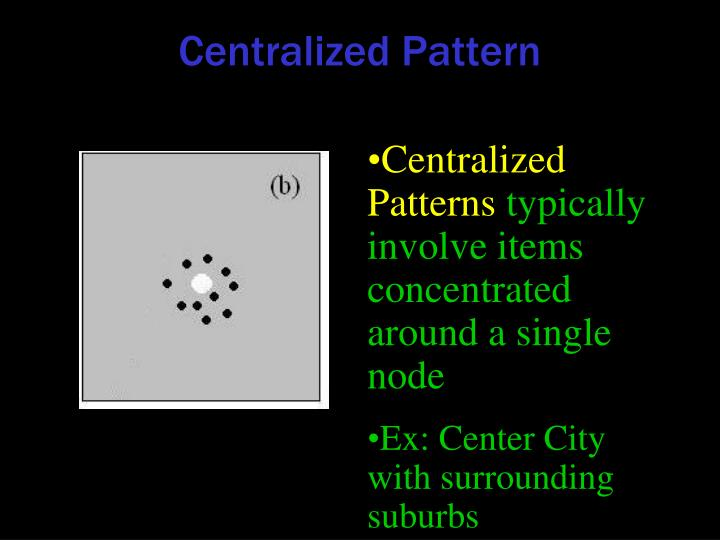 Centralized Pattern