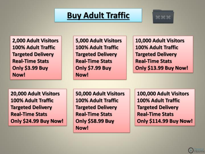 Buy Adult Traffic