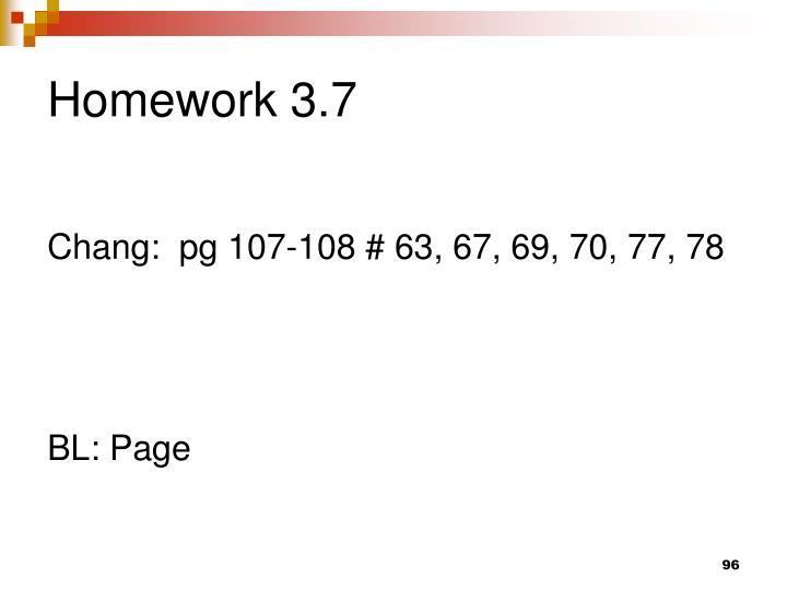 Homework 3.7