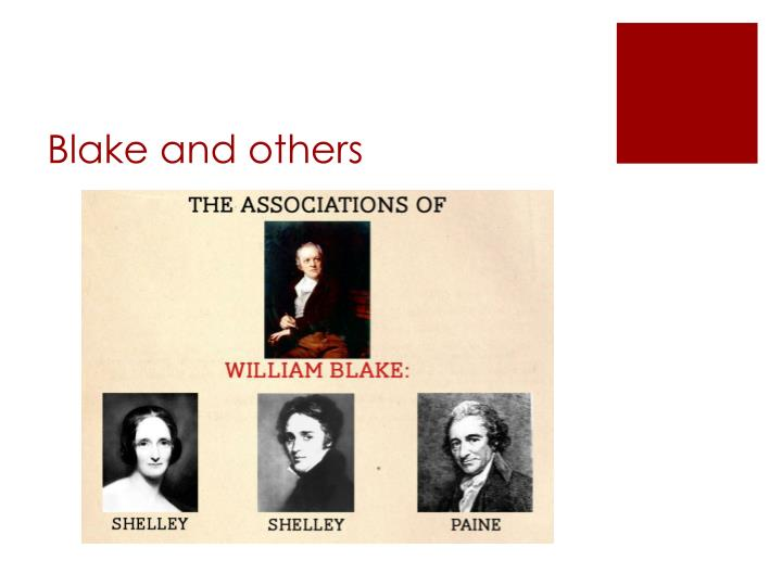 Blake and others