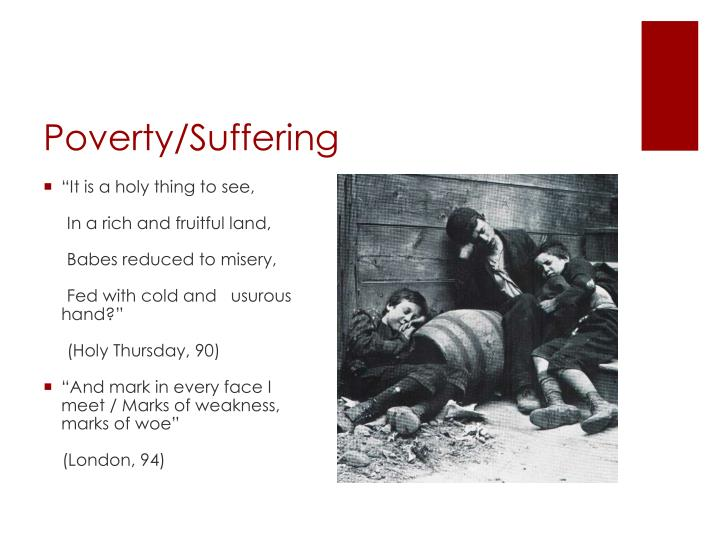 Poverty/Suffering