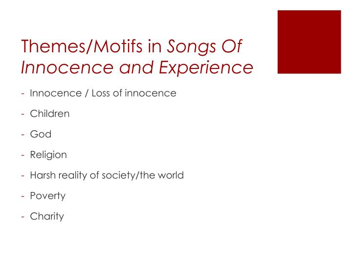 Themes/Motifs in