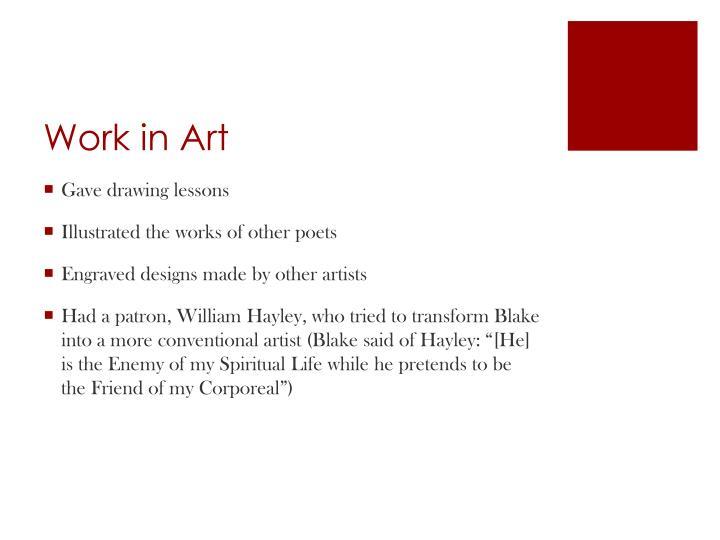 Work in Art