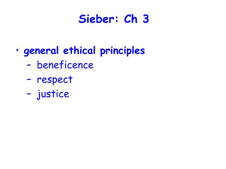 Sieber: Ch 3
