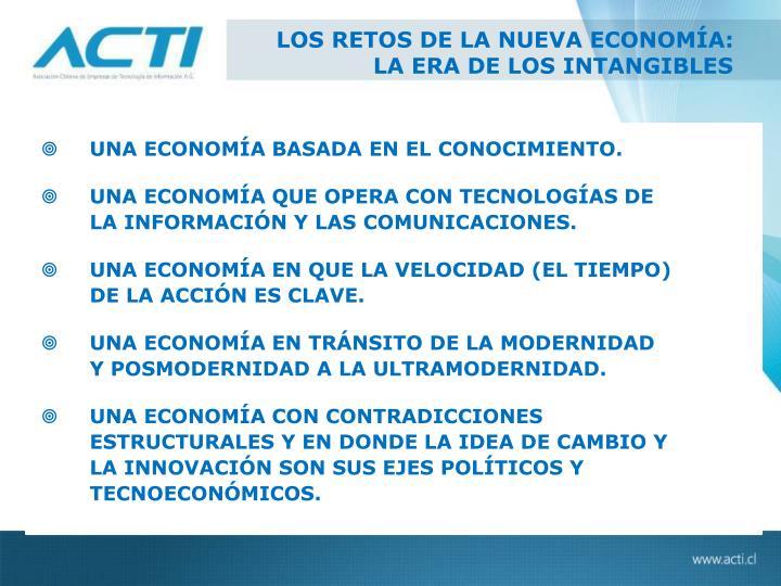 LOS RETOS DE LA NUEVA ECONOMÍA: