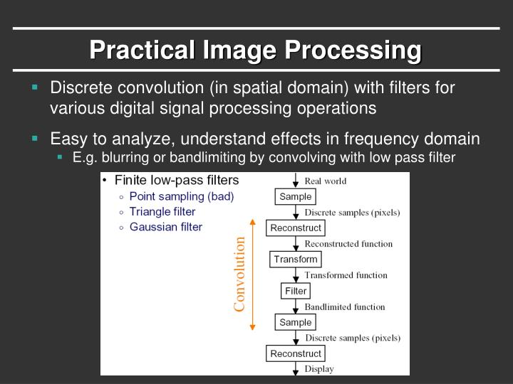 Practical Image Processing