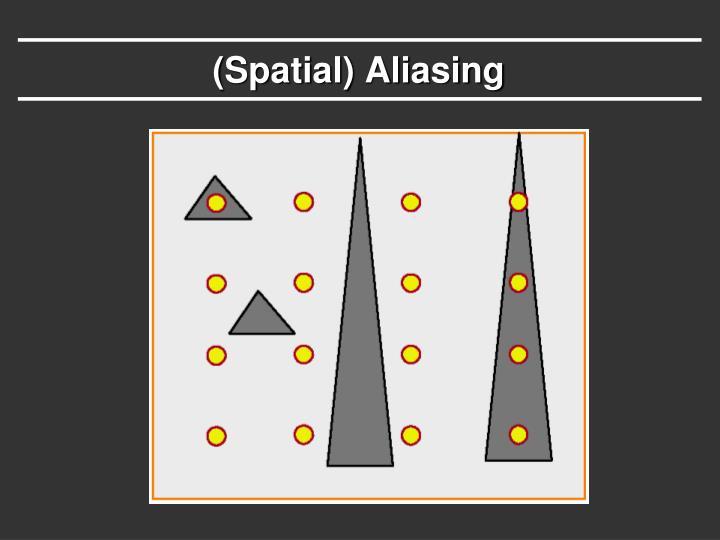 (Spatial) Aliasing