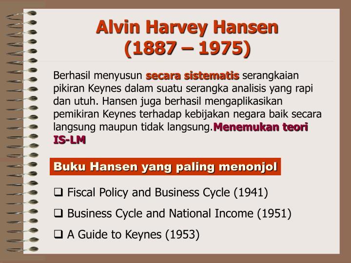 Buku Hansen yang paling menonjol