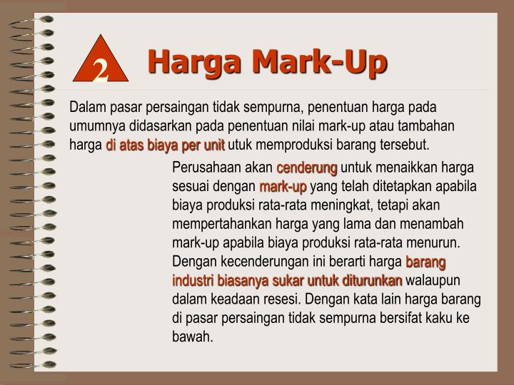 Harga Mark-Up