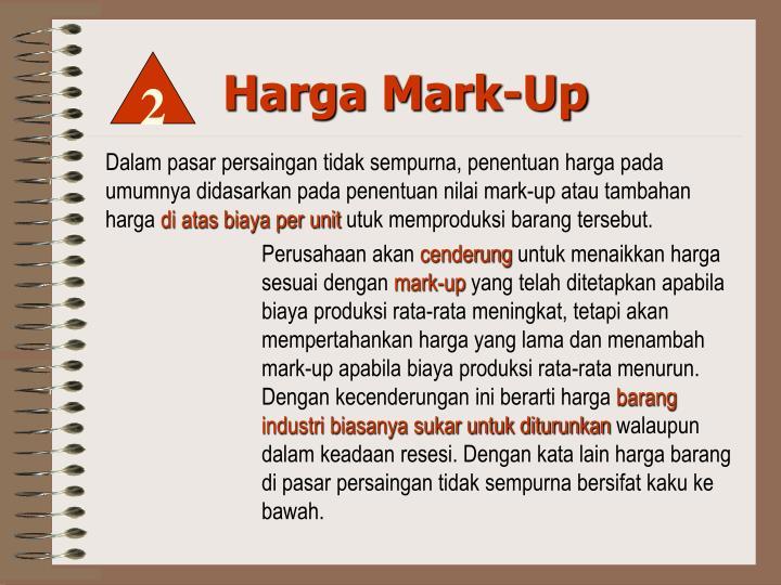 Harga Mark-Up