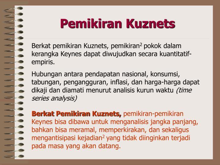 Pemikiran Kuznets