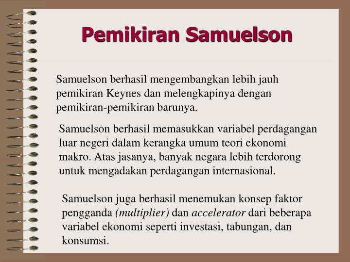 Pemikiran Samuelson