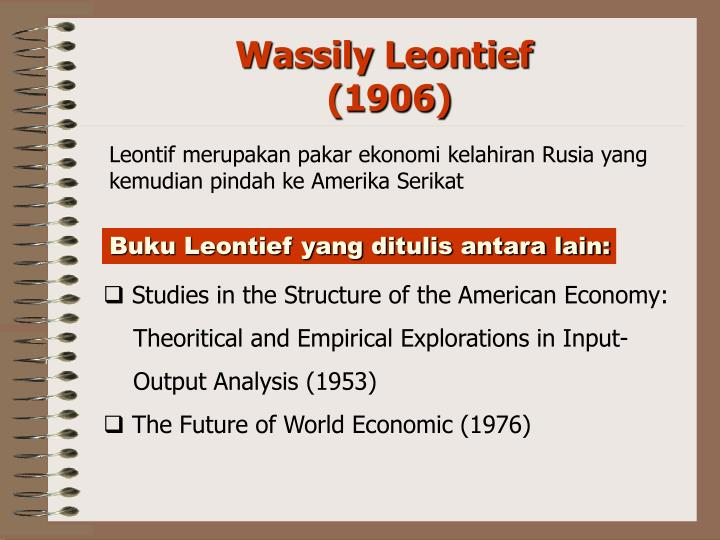 Wassily Leontief