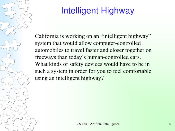 Intelligent Highway