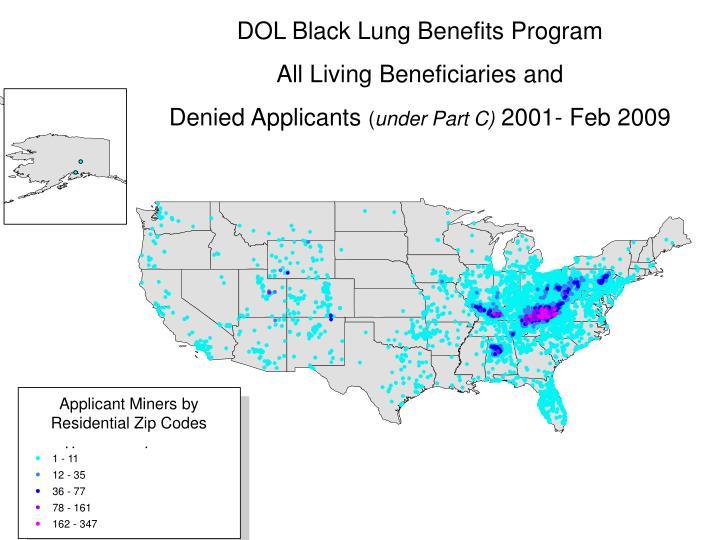 DOL Black Lung Benefits Program