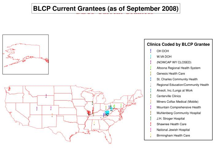BLCP Current Grantees