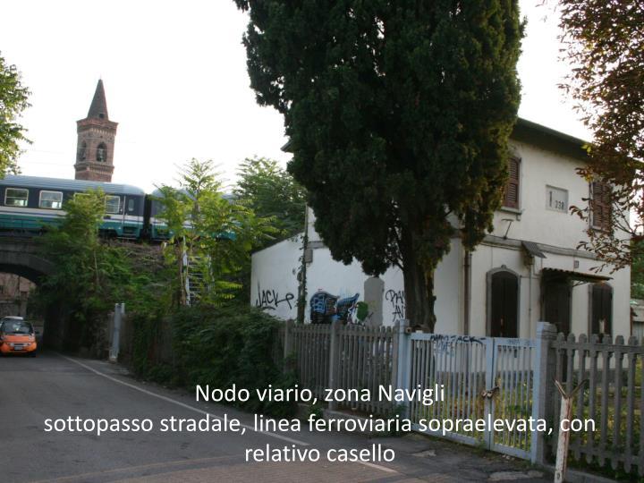 Nodo viario, zona Navigli