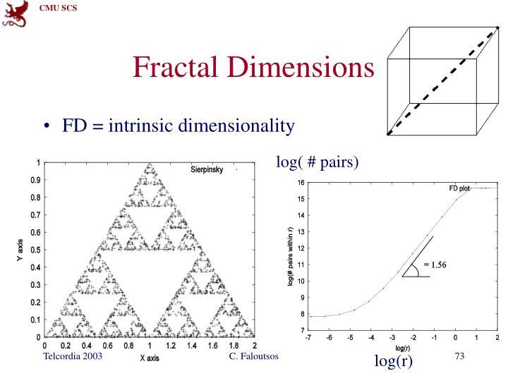 Fractal Dimensions
