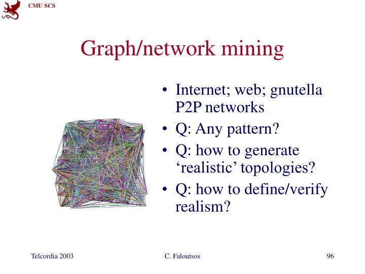 Graph/network mining