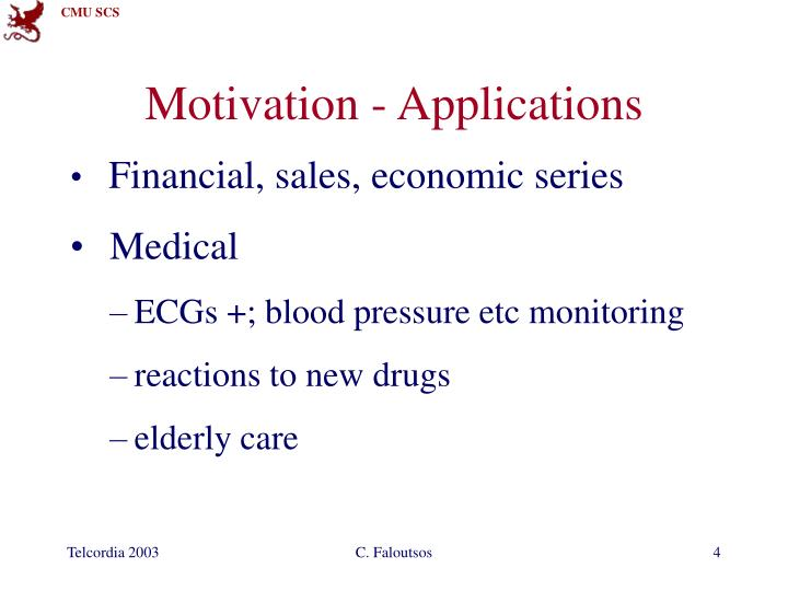 Motivation - Applications